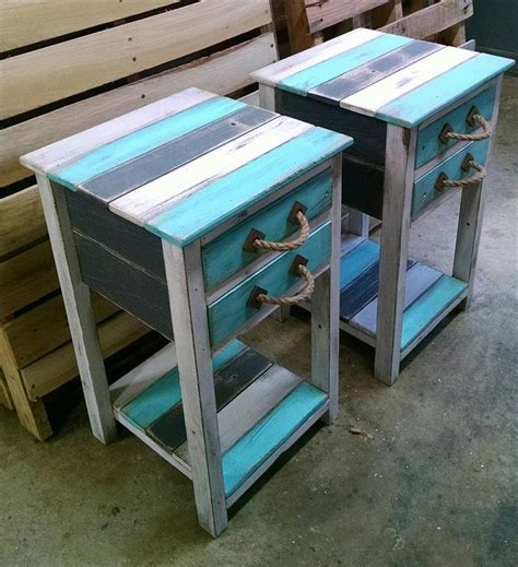 pallet end table rustic pallet end tables 99 pallets