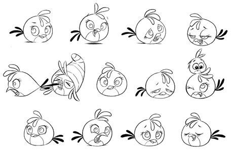 coloring pages angry birds stella stella angry birds coloring pages