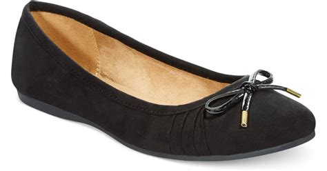 style co shoes flats style co addia ballet flats only at macy s in black lyst