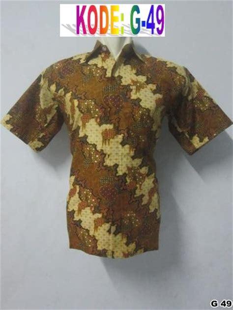 Baju Cowok Onlain belanja baju batik pria grosir batik pekalongan modern