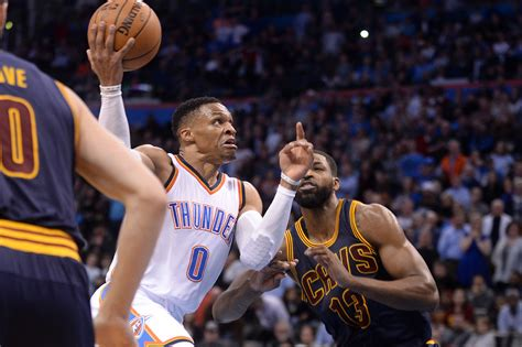 Thunder In The City okc thunder outrun cleveland cavaliers to garner important win