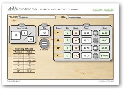 Lumber Calculator Diy Project Calculator For Board Feet