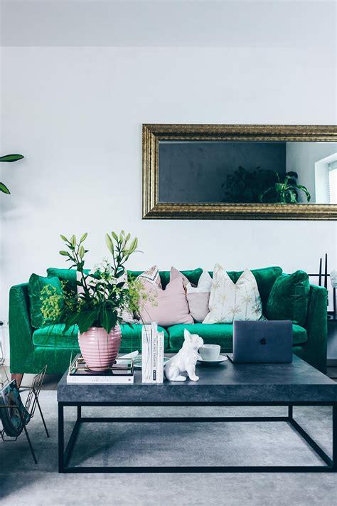 inspiration wohnzimmer unsere neue wohnzimmer einrichtung in gr 252 n grau und rosa