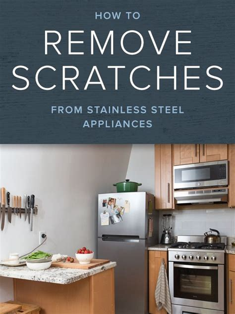 how do you clean a stainless steel kitchen sink how to remove scratches on stainless steel appliances