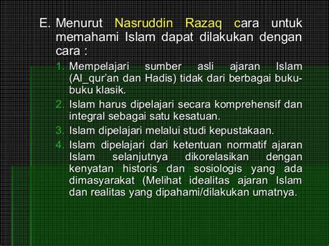 Ilmu Hukum Holistik Studi Untuk Memahami Kompleksitas Dan Pengaturan metode studi islam