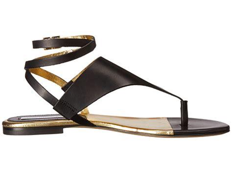 Sandal Mitzi Gold diane furstenberg mitzi black gold bonded vacchetta