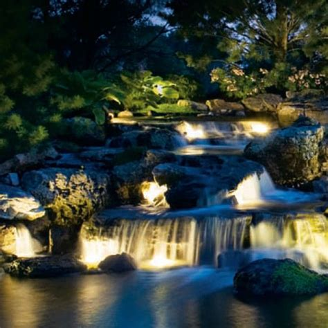 12 best pond lighting images on garden ideas