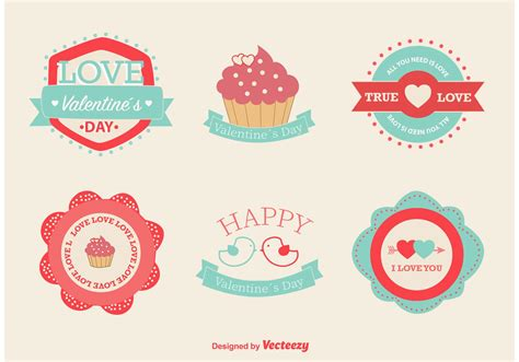 free valentines vectors and vector labels free vector