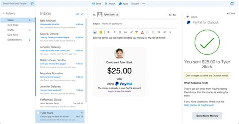 Office 365 Outlook Plugins Microsoft Is Rolling Out Uber Paypal And Evernote Add Ins