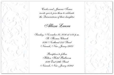 quinceanera sle wording invitation cards template quinceanera invitations wording quinceanera invitations