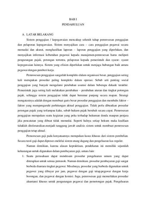 makalah layout kantor makalah penelitian mid sistem penggajian aktiva tetap