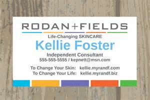 rodan and fields business cards rodan fields business cards printed or digital upload one