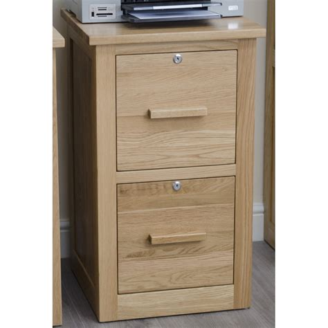 Arden Filing Cabinet Home Office Secure Lockable Solid Oak Lockable Bedroom Furniture