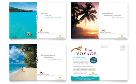 microsoft office postcard templates travel tourism postcard templates word publisher