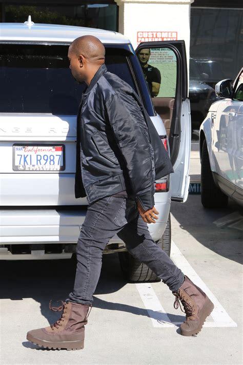 Diskon Adidas Yeezy Crepe Boots Black Season2 kanye west wears yeezy season 1 bomber jacket and 950