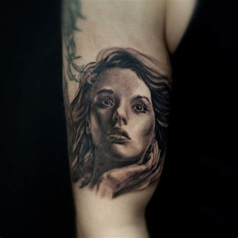 angel portrait cleanfun tattoo portraits pinterest