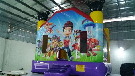 inflatable bouncy toy paw patrol paw patrol bouncer air bounce inflatables party