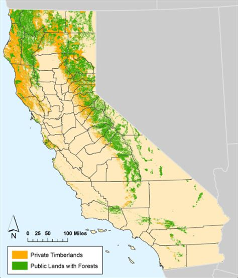 california map national forests northern california forest service maps images