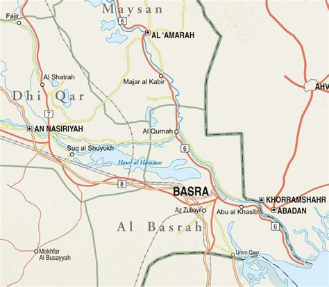 the study of maps map of basra arabcooking me