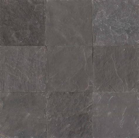 obsidian black los angeles slate flooring tile 16x16