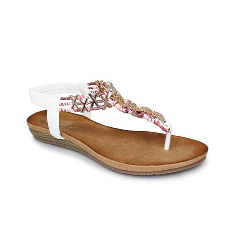 antigua sandals lunar antigua sandal toe post sandal weaved leather