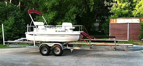 mini pontoon boats illinois eldebo electric pontoon project pontoon forum gt get help