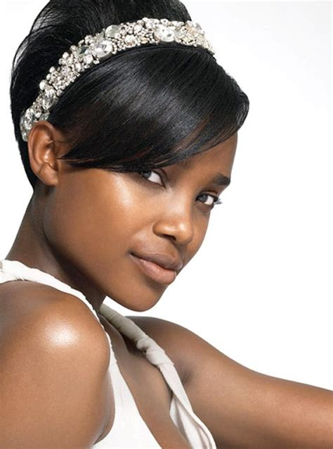Wedding Hairstyles For Black Hair by Black Hair Wedding Hairstyles Inspire Leads