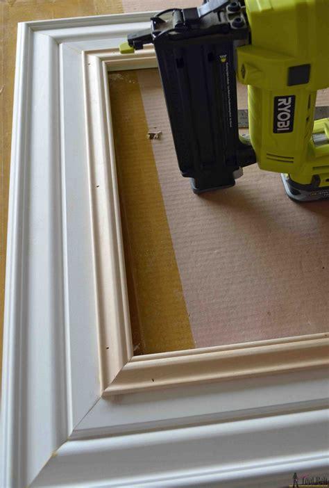 diy custom picture frame  tool belt