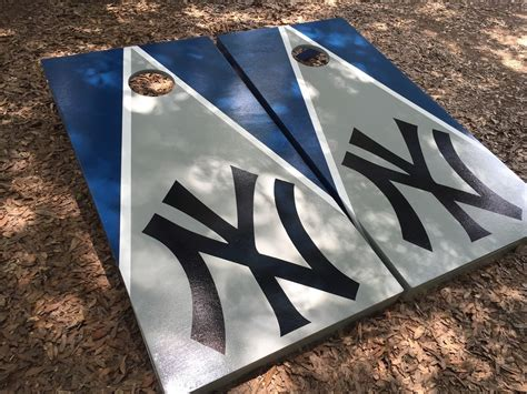 yankees bean bag toss new york yankees set with bean bags