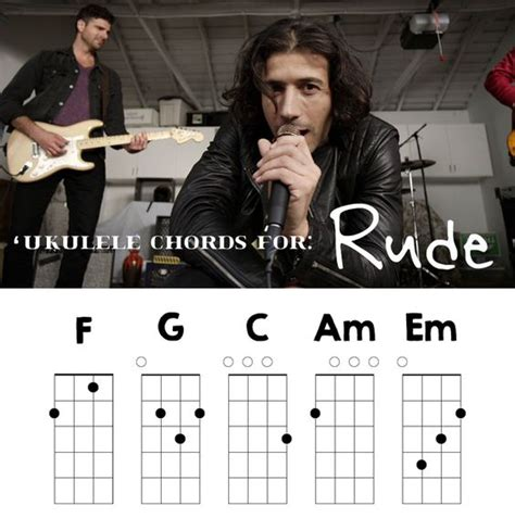 strumming pattern rude magic you want to talk about a catchy song rude is a catchy