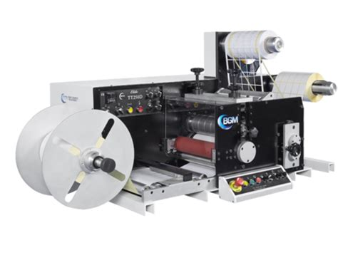 table top label rewinder products for bar graphic machinery