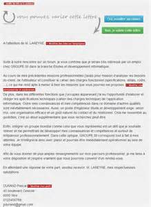 L Entreprise Lettre De Motivation Lettre De Motivation Recrutement It