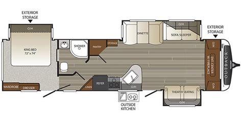 outback travel trailer floor plans full specs for 2017 keystone outback 333fe rvs rvusa com