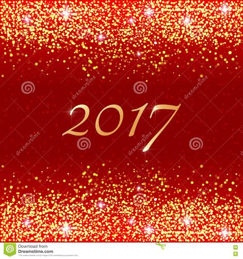 Happy New Year Bglam by Happy New Year 2017 Stock Vector Image Of Glam Golden