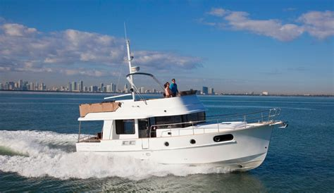 yacht style boat five affordable trawlers over 40 feet boats