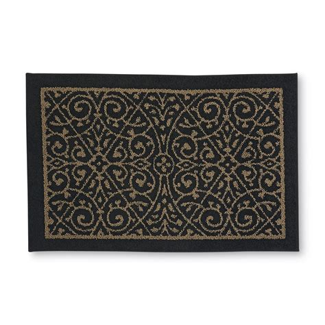 accent area rugs essential home ombre 22x60 area and accent rugs home