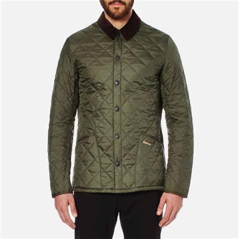 barbour heritage s liddesdale quilt jacket olive