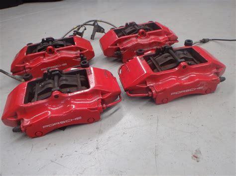 Breket Kaliper Brembo Drag porsche 911 4s c4 996 turbo brembo front rear brake caliper set j077 ebay