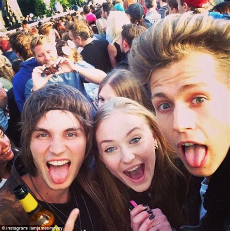the vamps james mcvey and game of thrones star sophie