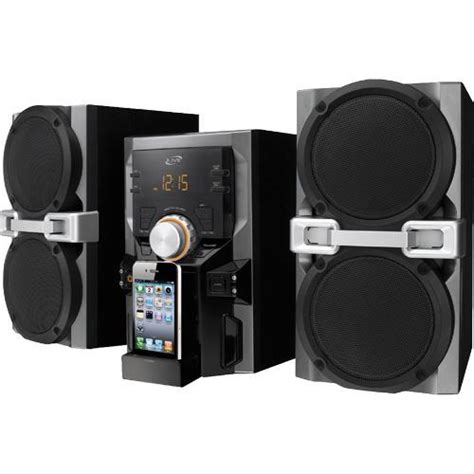ilive ihp610b shelf top audio system with ipod dock ipod