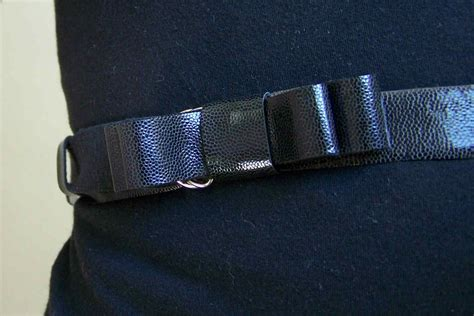 made by me shared with you diy faux leather belt part 2