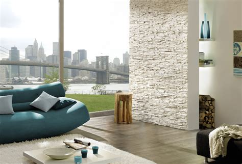 contemporary living room with stacked stone accent wall stack stone look accent wall modern living room new