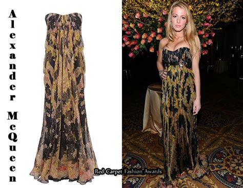 In Closet Mcqueen Carpet Fashion Awards by In Lively S Closet Mcqueen Black Silk