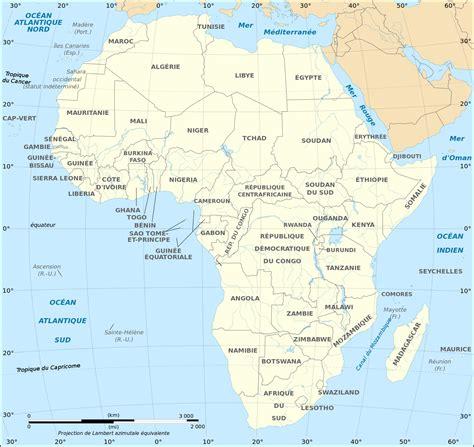 cartes de l afrique et information sur le continent africain