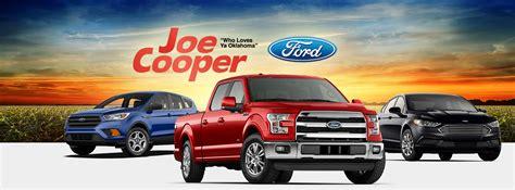 Joe Cooper Ford Shawnee joe cooper ford shawnee shawnee oklahoma ok