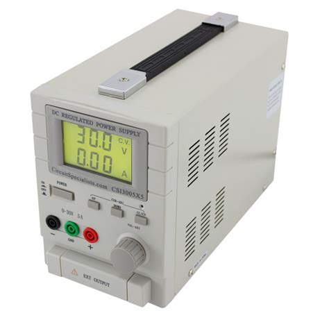 ac bench power supply 0 30vdc 0 5a 5vdc 1a dual output bench power supply