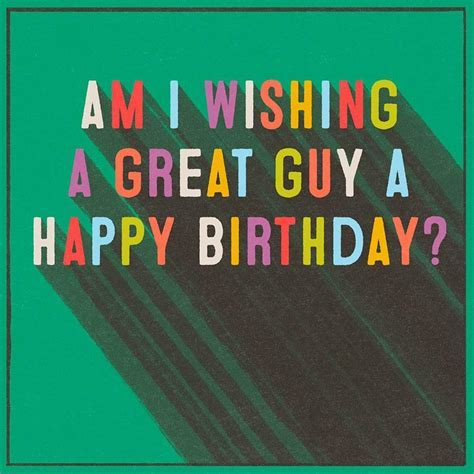 Great Guy Musical Birthday Card   Greeting Cards   Hallmark