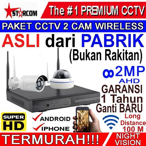 Promo Paket Cctv 4 Channel 2 Outdoor jual beli paket cctv 4 channel 2 indoor