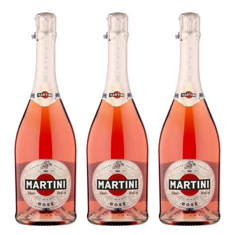 martini and prosecco martini sparkling 75cl treble prosecco set