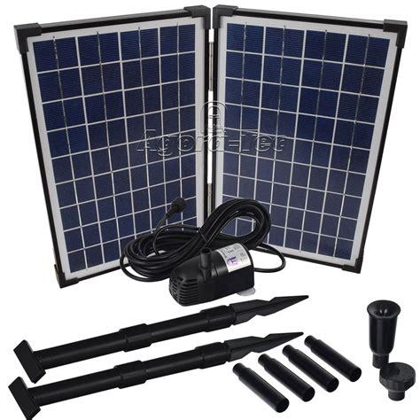 Solarmodul Garten by Solar Teichpumpe Infos Test Kaufratgeber Zu Solarpumpen